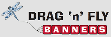 DRAG 'n' FLY BANNERS logo